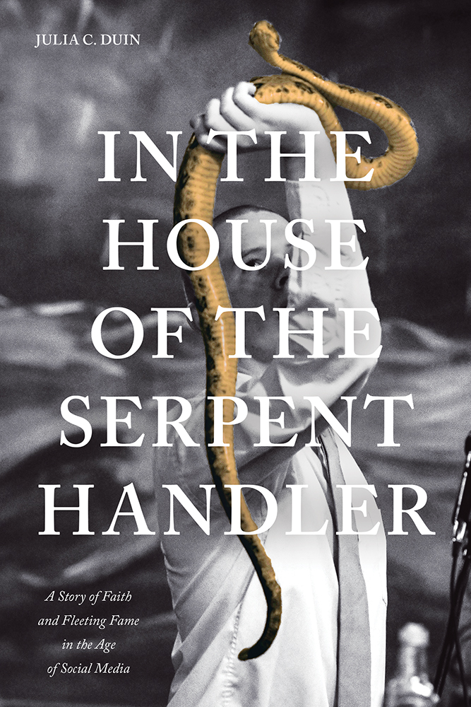"Book cover for ""The House of the Serpent Handler"""